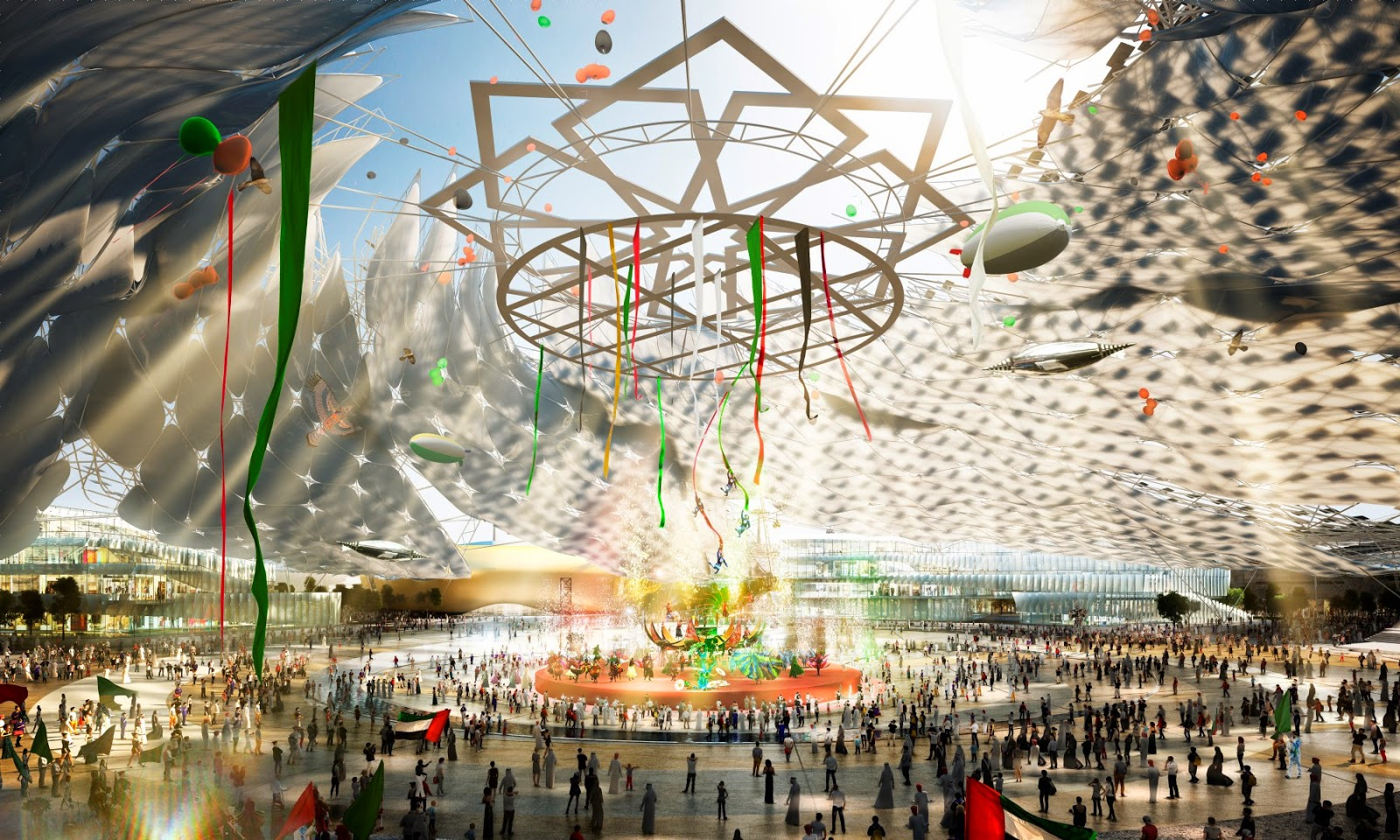 Expo 2020 three-year countdown Event in Dubai