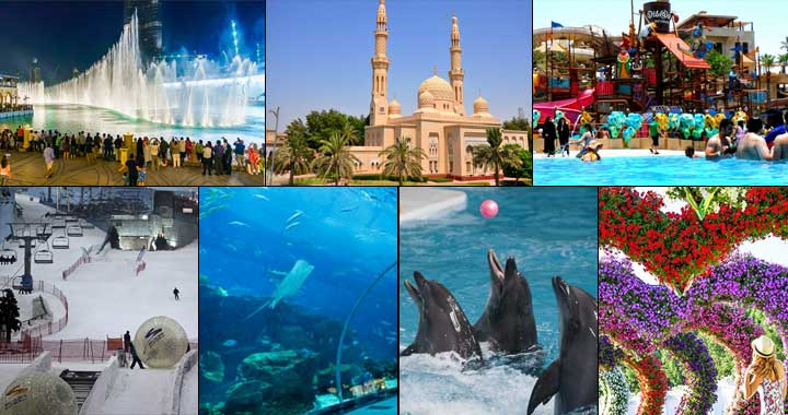 Best Places for Tourists to Visit in Dubai