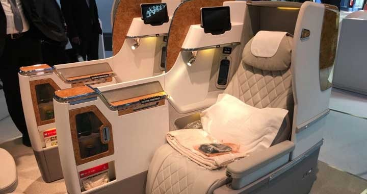 Emirates Airline Revealed First Look of New Business Class Seats