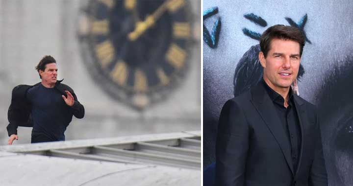 Tom Cruise shooting for 'Missing Impossible 6' in Abu Dhabi