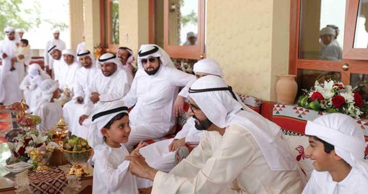 HH Sheikh Mohammad Bin Rashid Al Maktoum attends Lunch Banquet hosted by Sultan Bin Ali Al Sabousi