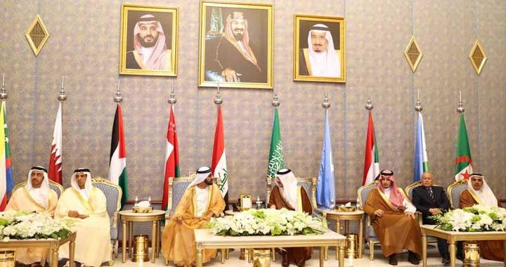 Mohammed-bin-Rashid-arrives-in-Saudi-Arabia-for-Arab-Summit