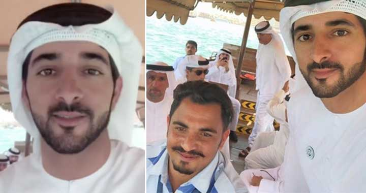 Sheikh Hamdan Surprises an Abra Driver with a Trip Across Dubai Creek