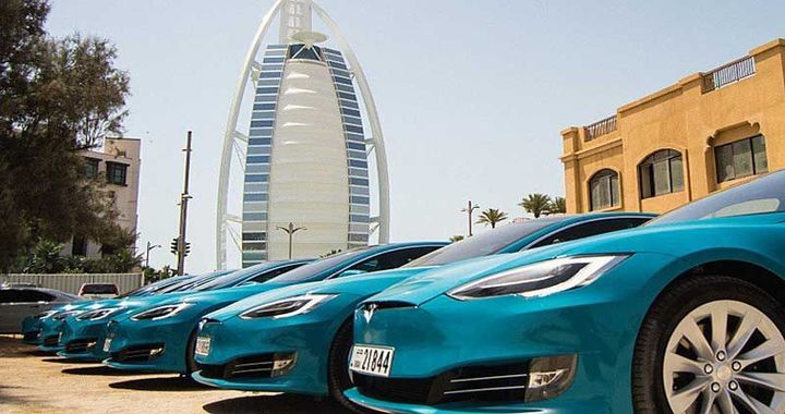 Careem Introduces Tesla Electric Cars for Customers in Dubai