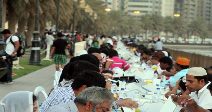 Longest Iftar in Sharjah