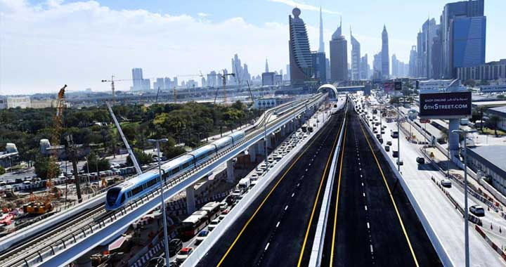 RTA Opens Tunnel on Both Sides of Sheikh Rashid Street