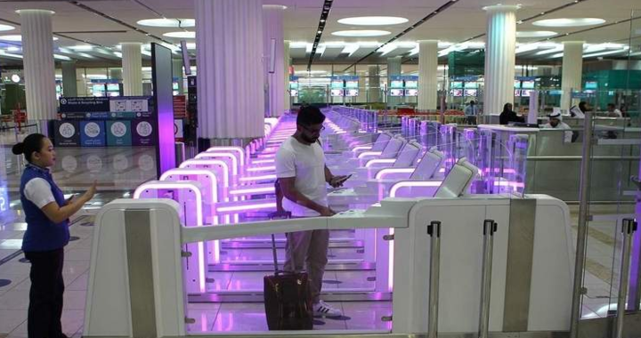 18 New Smart Gates Installed at Terminal 2 of Dubai International Airport