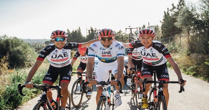 UAE Team Emirates Top Team Standings