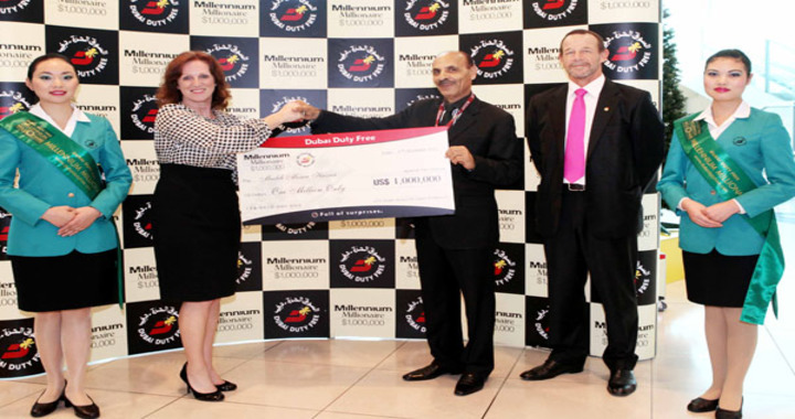 UAE expat Musleh Mousa Hassab wins 1 million dollars in a Raffle for the Second Time