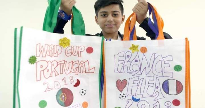Indian Boy, Mohammed used Eid Money to Raise Awareness of Recycling