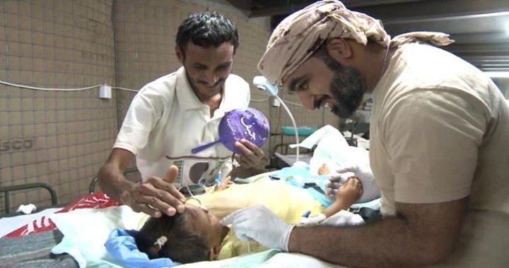 Medical Team Saved 3-year old Yemeni Girl in UAE