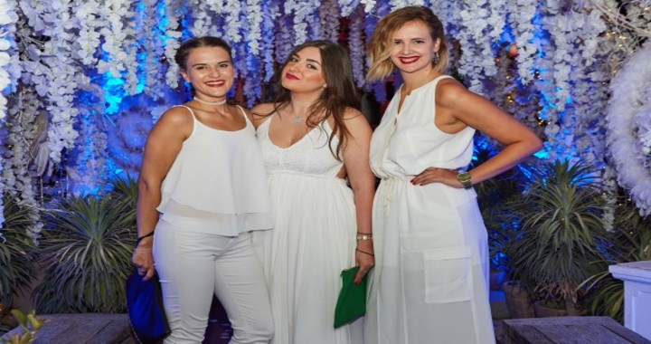 White Themed Party at the COYA restaurant on July 18, Wednesday