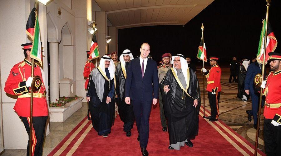 Prince William Kuwait's Minister Sheikh Ali al-Jarrah al-Sabah