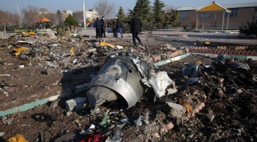 176 Passengers Killed in Ukraine Boeing 737 Plane Crash