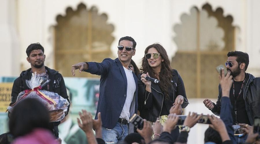 Akshay Kumar in Dubai to film 'Laxmmi Bomb'