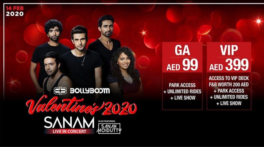 Sanam ft. Sanah Moidutty to perform at Bollywood Parks Dubai