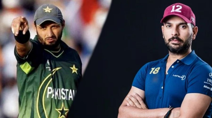 Yuvraj and Afridi to mentor teams at Expo 2020 cricket final