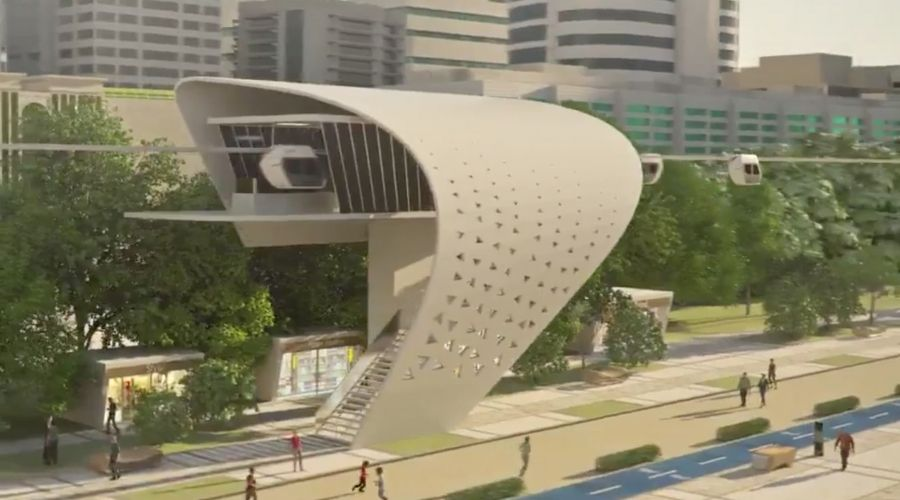 Confirmed Sky Pods to be built in Dubai