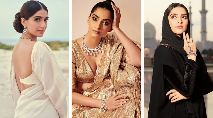 Sonam Kapoor visits Abu Dhabi for Bulgari Brand Collaboration