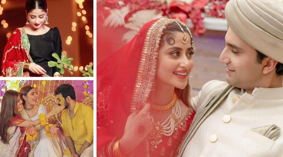 Ahad Raza Mir married Sajal Aly in Abu Dhabi, UAE