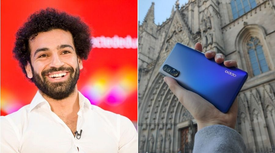 Liverpool's star player 'Mo Salah' is the new face of Oppo